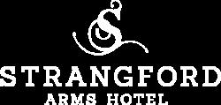 Strangford new logo White